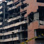 Бомбардован Генералштаб војске Србије у Београду