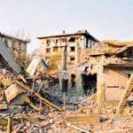 Шест пројектила велике разорне моћи погодило је Алексинац 5. априла 1999, убијено 17, а рањено 50 грађана