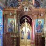 Иконостас цркве Светих Козме и Дамјана, манастир Зочиште
